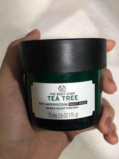 The Body Shop Tea Tree Night Mask