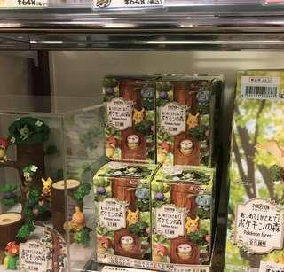 REMENT Pokemon forest 食玩系列一套(不散買)