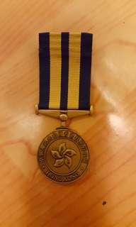 絕版CAS民安隊長期服務獎章