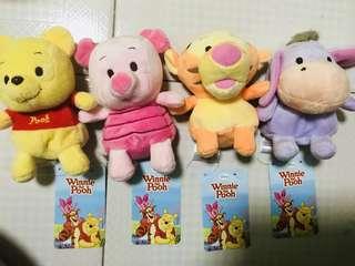 Winnie The Pooh Family Bears