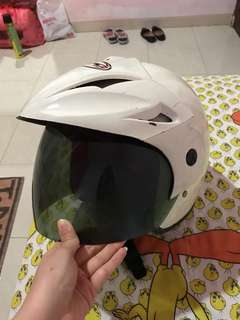 Helm Putih Murah Polos