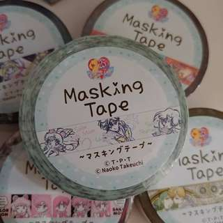 SAILORMOON masking tape 膠紙