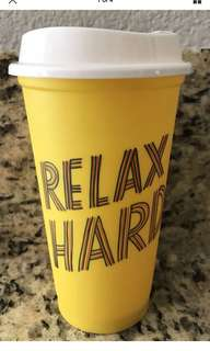 Starbucks US Reusable Cup with Lid 2018 (Relax Hard)