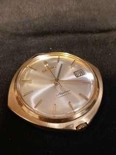 SEIKO精工Skyliner的DIASHOCK21J機械上鏈古董懷錶
