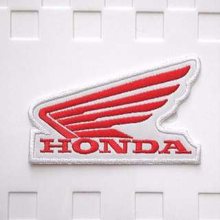 Honda Motorcycle Japan Bike Wings Logo Iron On Patch