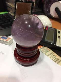 🚚 (已售出)紫色水晶球