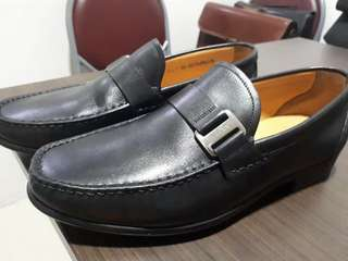 Bally leather shoes for men