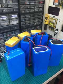 Custom battery for E-Scooter