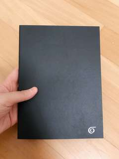 Notebook (black cover)