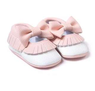 Baby Girl Mocassin Shoes
