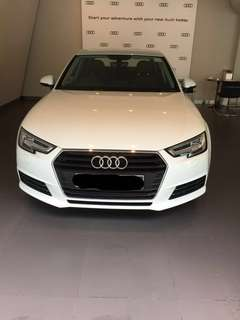 Audi A4 wedding car rent