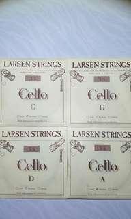 Larsen Cello String Set 3/4