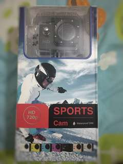 Sports Cam HD 720p (waterproof 30M)