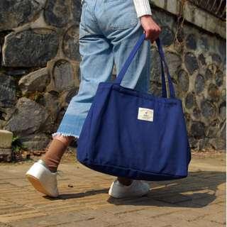 🚚 【現貨出清】韓版帆布單肩包、旅行袋