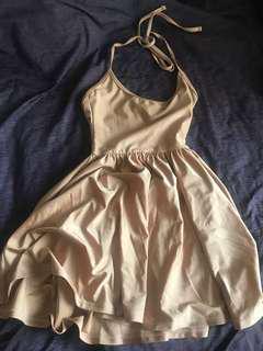 /AA/ Rose Gold Skater Dress