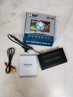 Dvb-t2 digital TV box to rec channel medicorp for not ditial ready tv