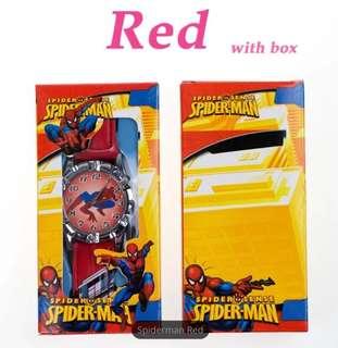 Jam tangan anak Spiderman, tayo with box