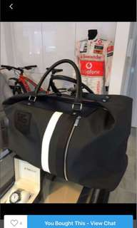 AUTHENTIC BRAND NEW TAG HEUER DUFFLE BAG