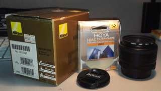 Nikon 50mm f1.8D