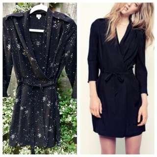 Wilfred Franca Wrap Dress - Size 6