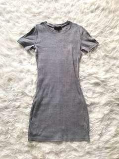 MDS grey bodycon dress
