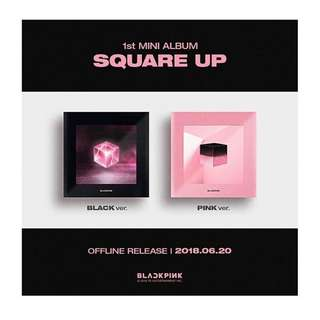 BLACKPINK 1ST MINI ALBUM(2 VERSIONS)