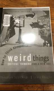 PDF E-Book How to think about weird things Schick