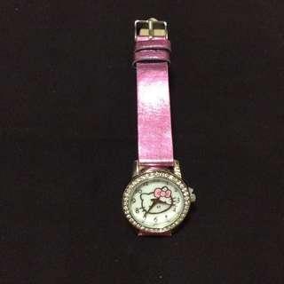 Hello Kitty皮帶手錶