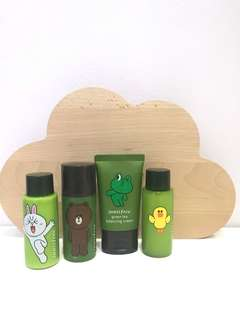INNISFREE Green Tea LINE FRIENDS SERIES - LIMITED EDITION