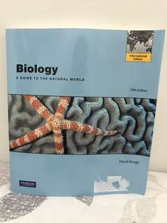 College Biology Textbook (Latest Edition)