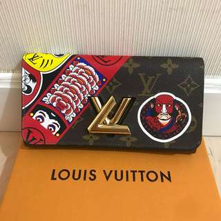 LV 銀包 Wallet Louis Vuitton 歌舞伎