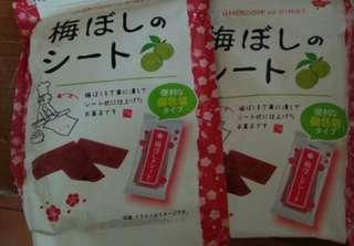 🚚 日本梅片40g*2