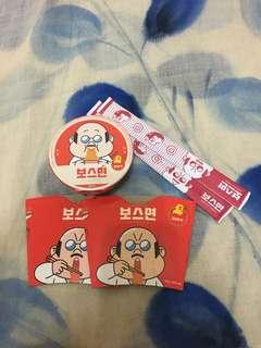 LINE 迷你辣味杯麵(包筷2對,紙杯座2個)