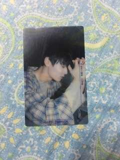 WANNA ONE - NOTHING WITHOUT YOU HWANG MINHYUN OFFICIAL PHOTOCARD