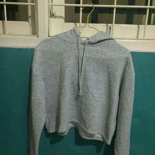 Hnm cropped hoodie size S