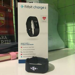Fitbit Charge 2 Black in S