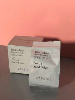 Laneige BB Cushion Refill only 23 Sand Beige