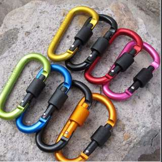Lock Backpack Buckle Hanging Padlock Tools <010E>