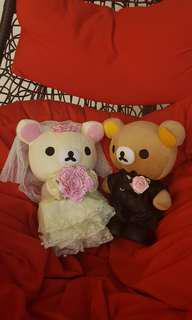 (In Bag) Rilakkuma Wedding Bears