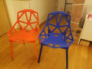 Designer chair big discount $300 for 2
