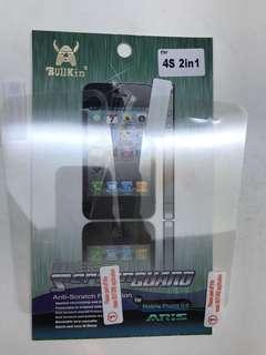 iPhone 4s 前+後保護貼 (本地平郵+$2)