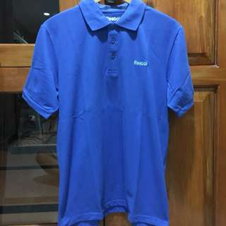 Blue Reebok Polo