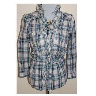 Smart Casual Ruffled long sleeves top for women