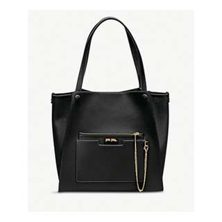 FOLLI FOLLIE On The Go textured faux-leather tote bag