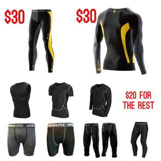Premium Compression Tights Sportswear