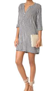 Soft joie checked gingham dress