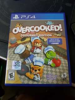 Overcooked PS4 games (include DLC)