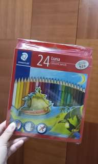 Free ✉: Sealed Staedtler 24 Luna Colour Pencils
