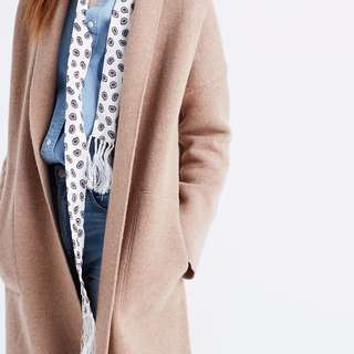 Madewell Merino Wool Sweater Coat