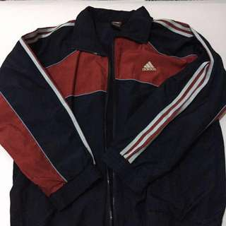 REPRICED! Vintage Adidas Windbreaker